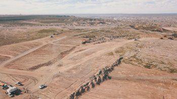 Gaido dio inicio al desarrollo de un nuevo loteo en la meseta