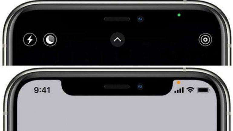 Qué es el punto que sale en el iPhone cuando usamos algunas apps