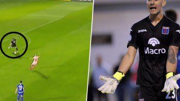 ¡Qué blooper! Mala salida de arquero de Tigre terminó en gol