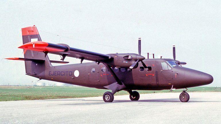 Los traslados de los secuestrados se hicieron con un avión bimotor Havillan Canadá DHC-6 Twin Otter, matrícula AE-106.