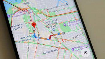 google maps advierte sobre zonas de mayor contagio de covid-19