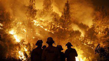 incendios en cordoba: murio mientras luchaba contra el fuego