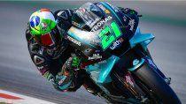 Franco Morbidelli y su Yamaha impusieron condiciones en el comienzo del fin de semana del Moto GP en el circuito de Barcelona.