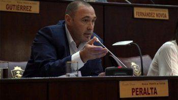 El diputado Peralta confirmó que dio positivo de coronavirus