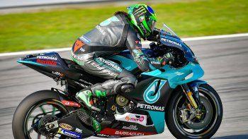Franco Morbidelli consiguió su primera pole position luego de dominar la clasificación del Moto GP en el circuito de Barcelona.