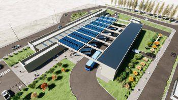 Cómo será la moderna nueva terminal de Centenario