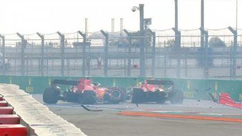 El tremendo palo de Vettel.