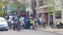 mendoza: batalla campal entre skaters y agentes municipales