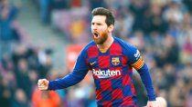 El Barsa, con Messi, debuta en la Liga.
