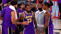 con lebron en llamas, los lakers estan en la final de la nba