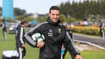Scaloni: su idea con Messi, el posible 11 y los convocados de Boca y River