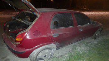 junin de los andes: le incendiaron el auto y sospecha de su ex