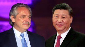 Xi Jinping invitó a Alberto Fernández a visitar China