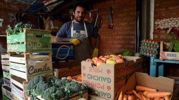 un ingeniero desocupado invento su delivery de vegetales