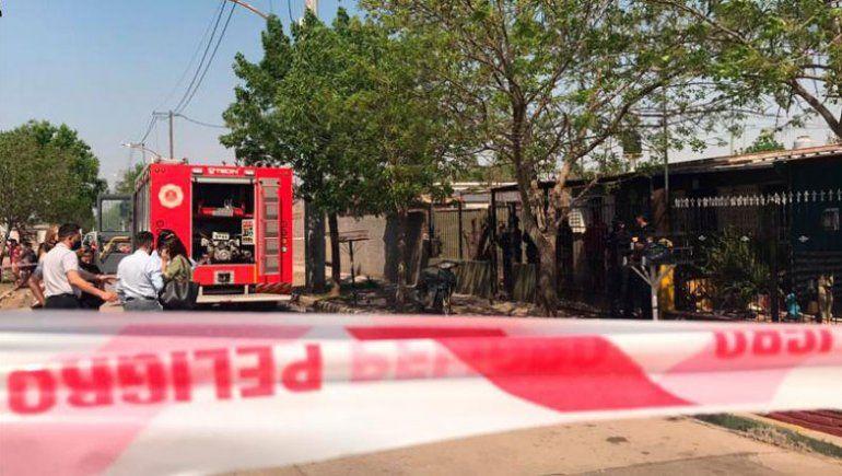 La madre de Daiana no pudo escapar de las llamas que generó su esposo.