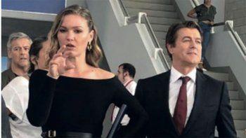 Corrado habló de su rol protagónico en la costosa serie Riviera