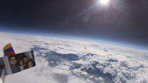fascinantes imagenes de la tierra desde un globo de helio