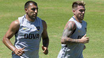 Dos buenas en Boca: Ábila y Buffarini jugarán los amistosos