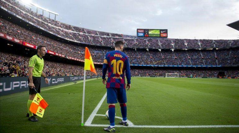 El Barcelona de Messi empezó afilado la liga.