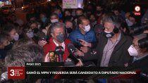 figueroa es candidato a diputado nacional, el gobierno nacional sufrio una dura derrota y continua la vacunacion