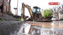 barrios de neuquen, sin agua por reparaciones