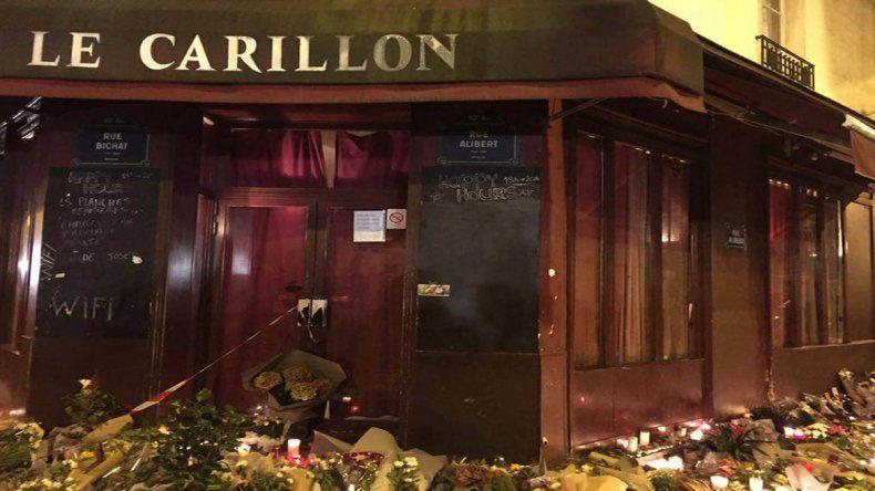 El bar Le Carillon fue uno de los blancos de los atentados