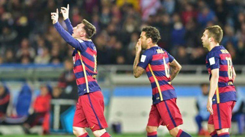 Barça campeón: fue muy superior y goleó a River 3 a 0 con un gol de Messi y dos de Suárez