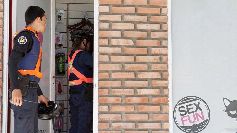 Los policías llegaron poco después del robo