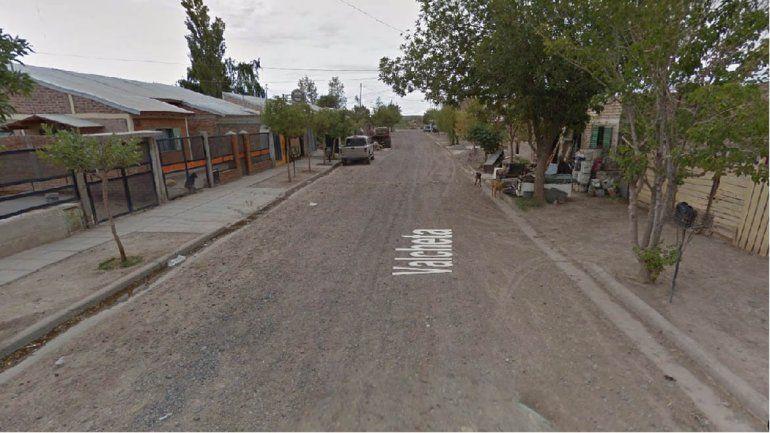 Barrio Anai Mapu fue la zona del hecho.