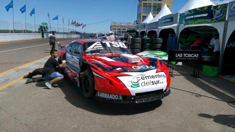 La nueva Chevy de Urcera fue la más veloz en el circuito viedmense.
