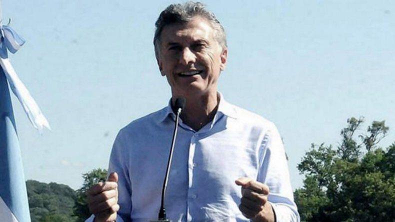 El presidente Macri encabeza un acto en el Invap