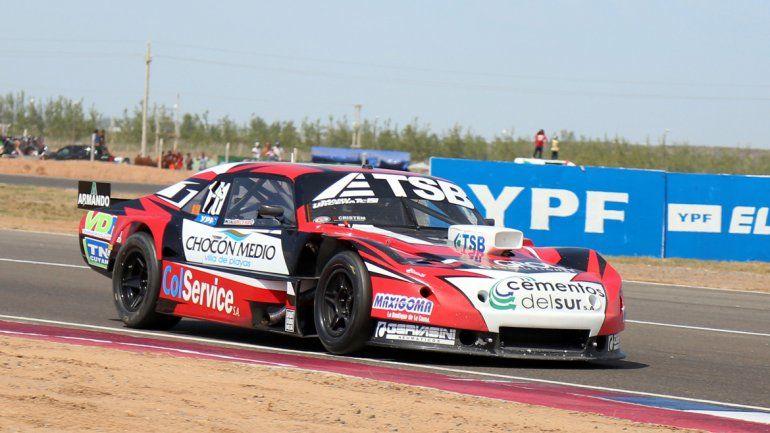 El Chevrolet del rionegrnio Urcera tuvo un fin de semana convincente en Centenario y terminó décimo