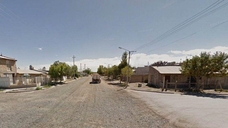 Violenta entradera a una familia de Fernández Oro