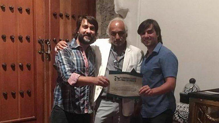 El realizador Diego Canut