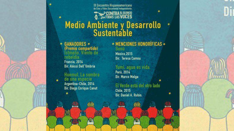 Premiaron en México al documental Huemul del realizador cipoleño Diego Canut