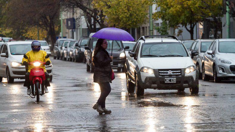 Se esperan lluvias débiles para hoy en la región