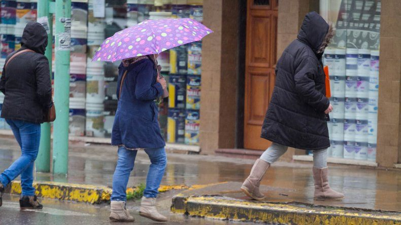 Vuelve el frío a la región, con lluvias y chaparrones