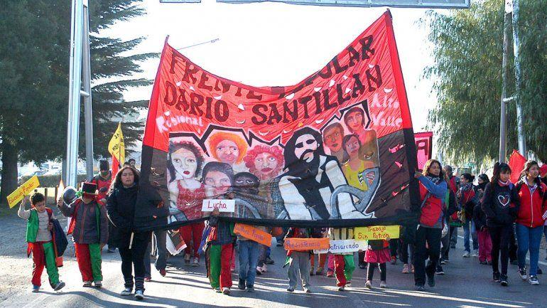 Hicieron un acto para conmemorar el asesinato de Kosteki y Santillán