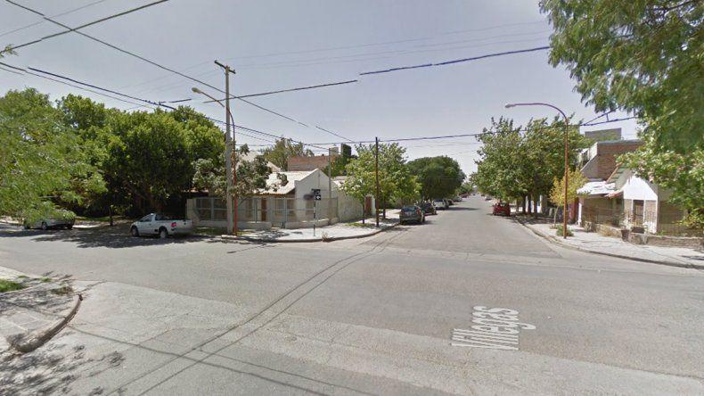 En la esquina de Villegas y Urquiza personal de la Unidad 32 logró capturarlos con los elementos robados.