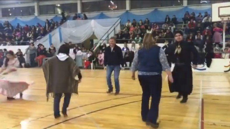 Una vez más Tortoriello demostró sus habilidades con el baile