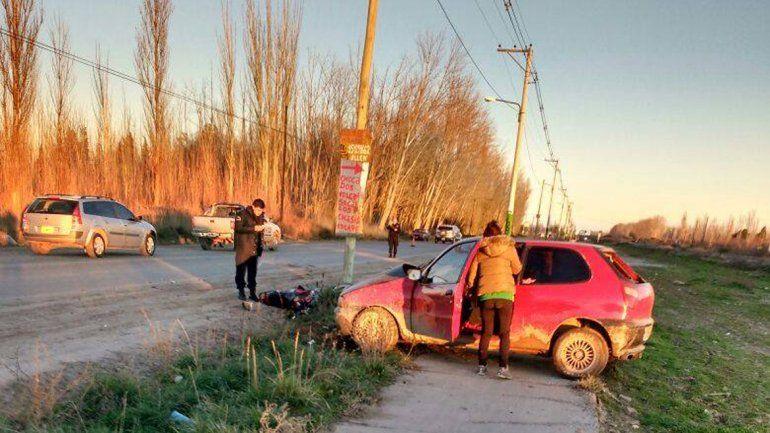 Un motociclista murió luego de un choque en la Ruta chica
