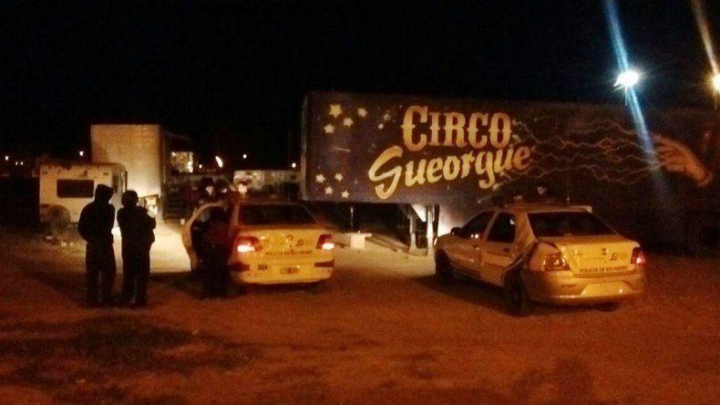 Mujer apuñaló a su marido en una casilla del circo