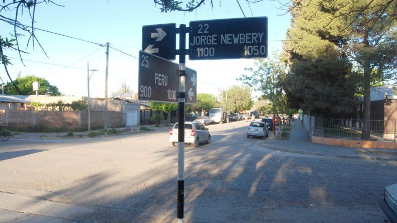 La joven motociclista fue atropellada cuando circulaba por calle Perú y pretendía doblar por Jorge Newbery.