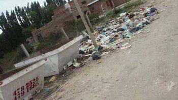 Los camiones recolectores pasaban rara vez por Las Perlas, por lo que el Municipio optó por colocar contenedores para que los vecinos arrojen la basura.