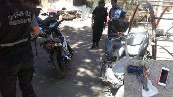 atraparon a los motochorros que perdonaron a una mujer humilde