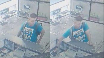 un vendedor robo un celular y quedo escrachado por las camaras