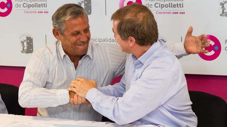 Tortoriello y Quiroga firmaron un convenio para desarrollar la Metrópolis del Alto Valle