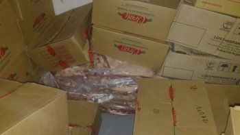 decomisaron 400 kilos de carne sobre la ruta 151