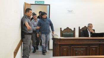 El detenido ayer, cuando se iniciaba la audiencia de formulación de cargos al cierre de esta edición.