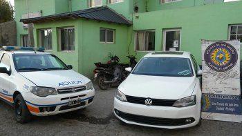 recuperaron un auto robado tras una persecucion de pelicula
